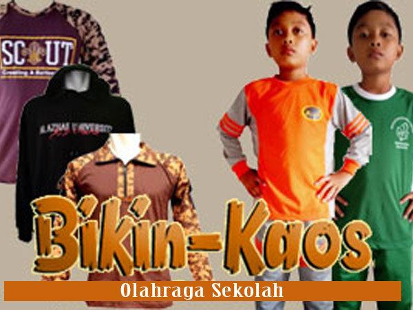 bikin kaos olahraga sekolah Murah di Tangerang